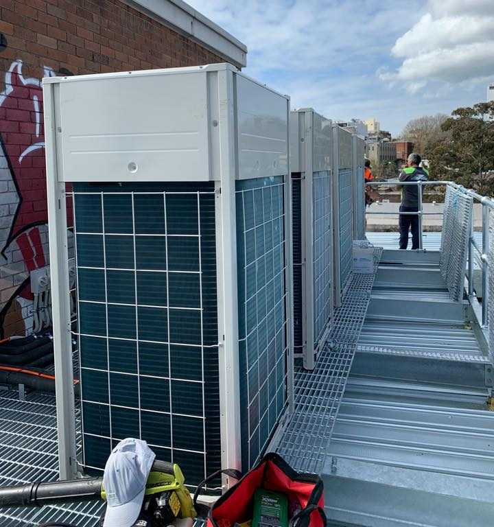 Advanced electrical air conditioning - Ducted system